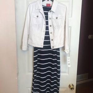 NWT White denim jacket from Elle